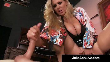 Man toy receives smothered by marvelous milf julia anns love tunnel