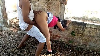 Outdoor risky public sex boss banging hawt large wazoo milf secretary in farmhouse