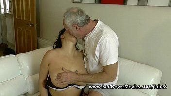 English milf gags on ben dovers weenie