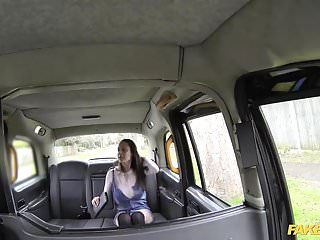 Fake taxi cabbie enjoys his dream fuck