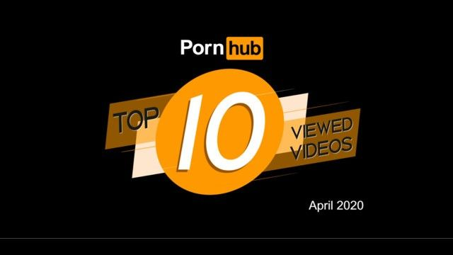 Pornhub model program top viewed clips of april 2020