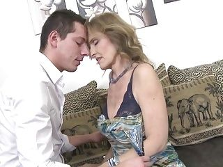 Sexy older sex with impure mamma and son