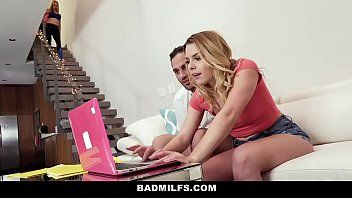 Badmilfs - tempted by boyfriends hawt stepmom
