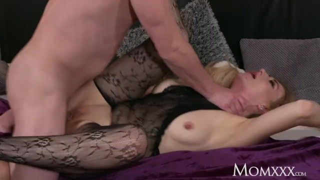 Mamma moist large love bubbles milf in bodystocking squirting and ass fucking