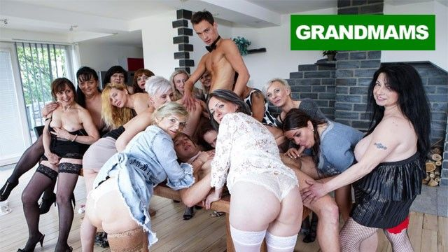 Giant granny fuck fest part two