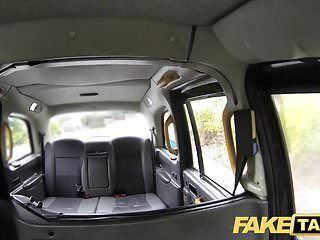 Fake taxi posh ladies swollen muff and constricted gazoo stuffed