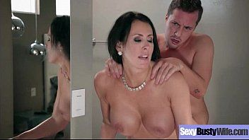 Hawt hawt wife reagan foxx with large juggs love intercorse clip-21