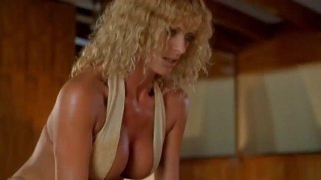 Bikini milf seduces silly lad on boat