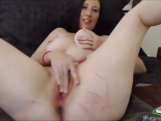 Hawt brunette hair milf pounds shaggy cunt and shaved anal