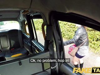 Fake taxi large hawt spanish butt bounces as taut cunt screwed