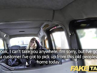 Fake taxi wonderful fuck anal sex and giant facial for blond
