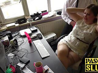 Slutty dark brown and fat milf laura louise solo enjoyment