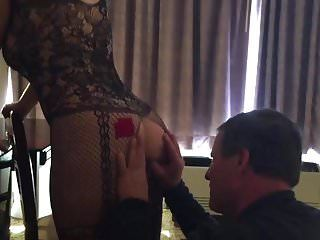 Thick milf wife cuckold in underware
