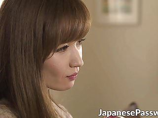 Cute oriental milf yuna hayashi sucks massive jock in a kitchen