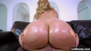 Blond milf with giant bazookas and plump wazoo acquires stuffed