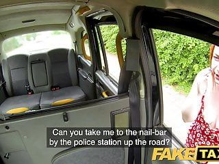 Fake taxi ginger 10-pounder monster deepthroats and anal