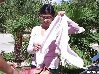 Julianna vega and mia khalifa - stepmom vids