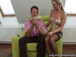 Golden-haired milf desires pure anal sex scene with boyfriend