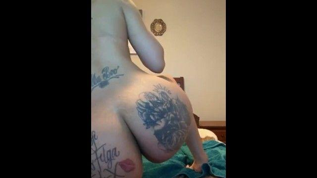 Large butt african milf